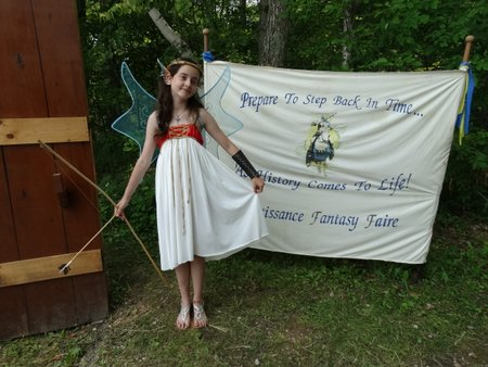 We were greeted at the entrance by a fairy.