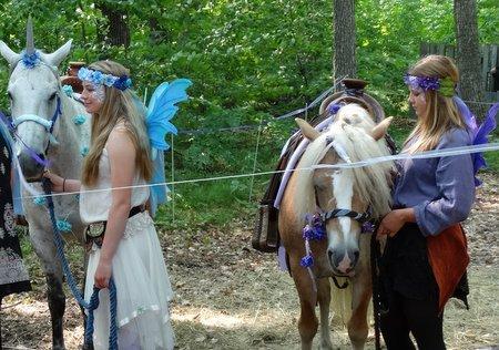 They even had unicorns!