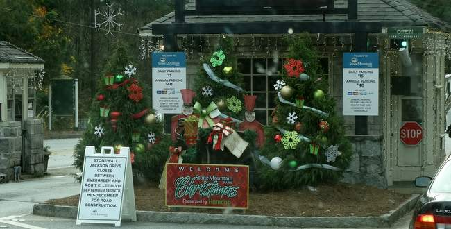 It's beginning to look a lot like Christmas everywhere we go!