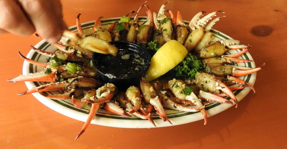 Crabs claws - Yumm!