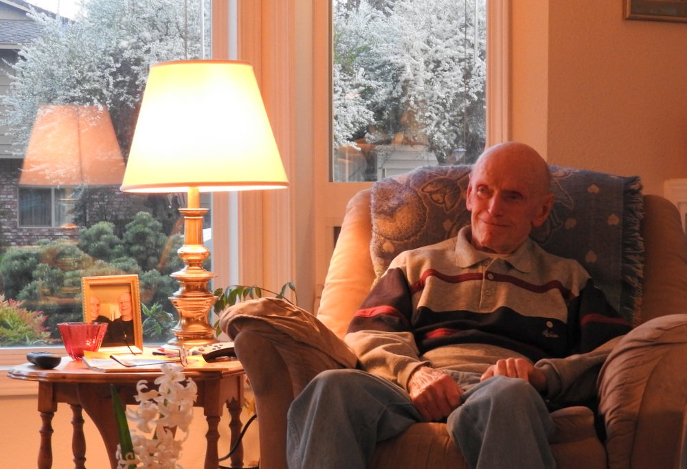 My older sister's husband, Fred